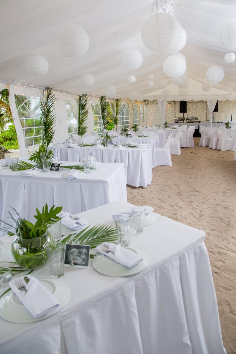 Gold Reception Package Wedding Planner Rarotonga